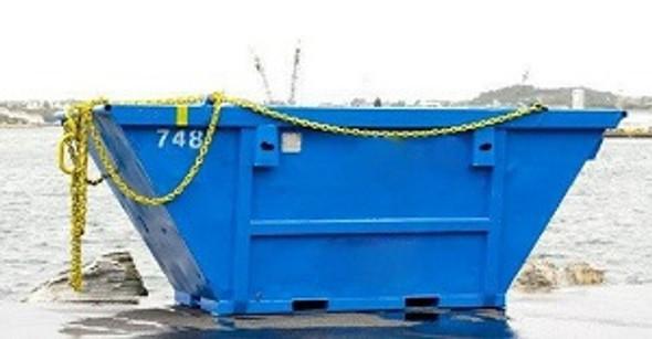 Offshore Waste Skips. Hellog