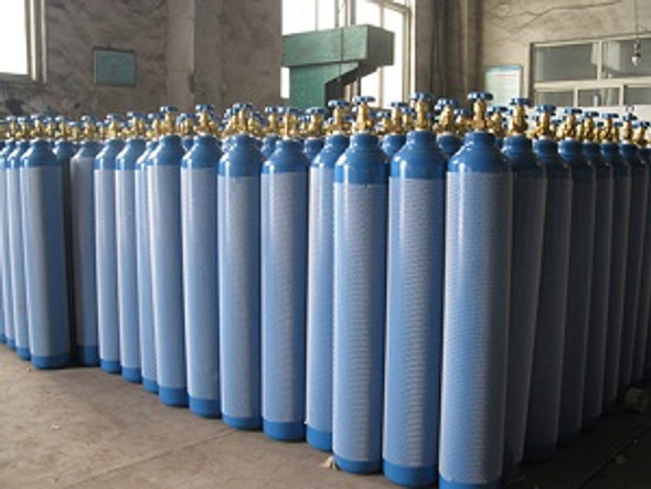 Oxygen Gas (industrial) welding gas 50 litres Returnable empty Cylinder