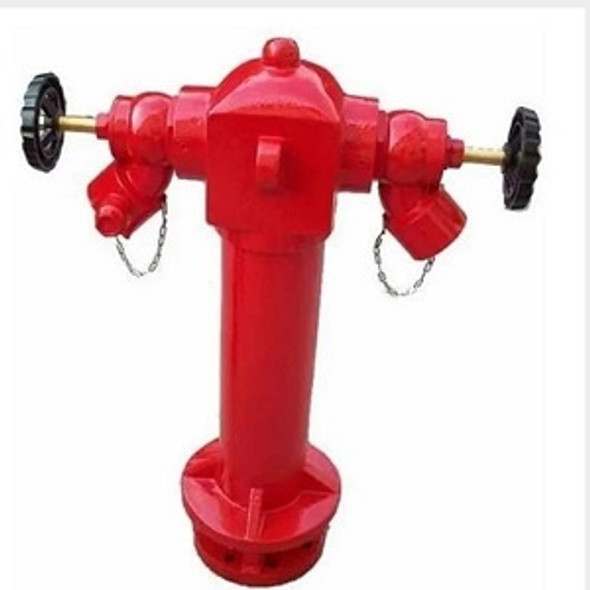 2-Way Pillar Double Outlet Fire Hydrant Hellog