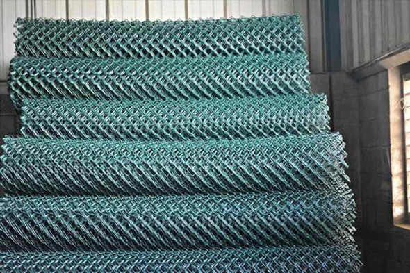 Chain Wire Fencing for sites 2.4mm by 18meters roll