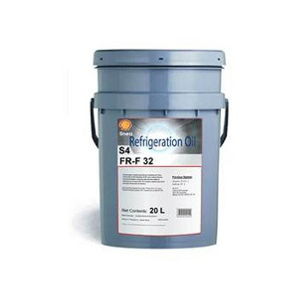 Shell Refrigeration compressor Oil S4 FR-F32 20L formerly Shell Clavus R32 synthetic Compressor oil