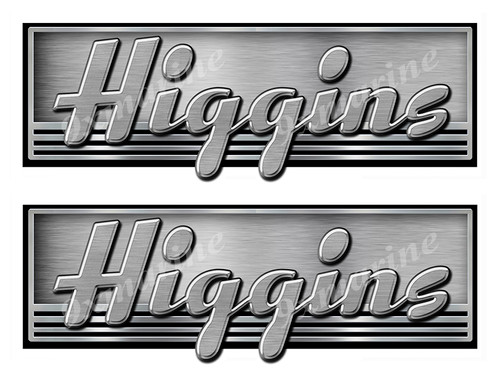 Two Higgins Boat Stickers. Not OEM