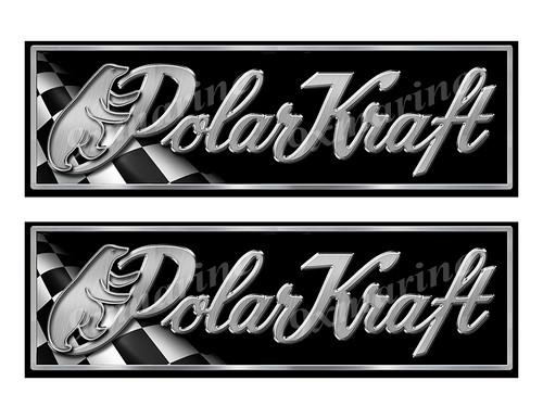 "Polar Kraft Classic Racing 10"" long Stickers"