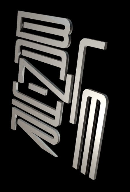 """Two Bayliner Plastic Letter Set. Must be assembled up to 58"""" Die-Cut"""