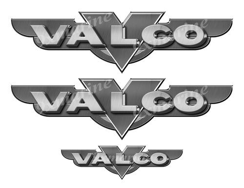 "Valco 50s boat Stickers ""3D Vinyl Replica"" of originals - 10"" long"