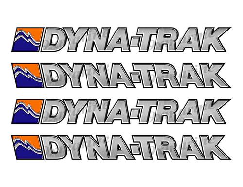 "Ebbtide Dyna-Trak Sticker set Left/Right - 10""x1"" each"