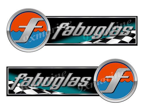 "Fabuglas Sticker set Left/Right - 10""x3.5"" each"