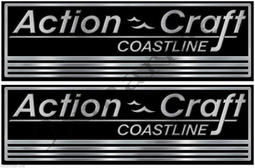 Action Craft Boat Classic Vintage Stickers Remastered