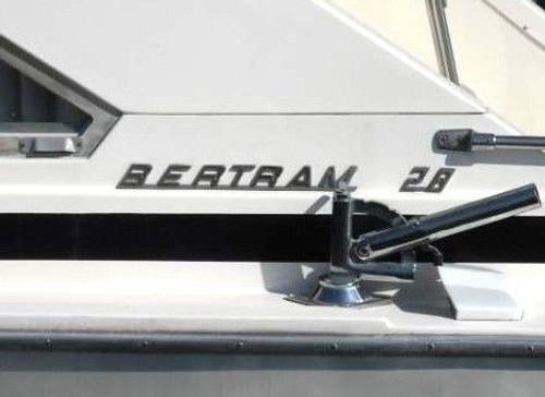 "Bertram 10"" Boat Restoration Sticker Set"