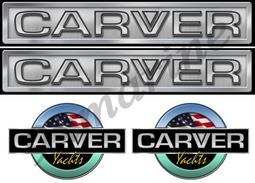 Carver Boat Remastered Stickers Generic