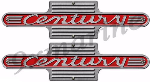 Century Vintage Sticker Set Boat Crest