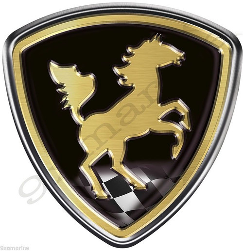 Single Century Horse Sticker
