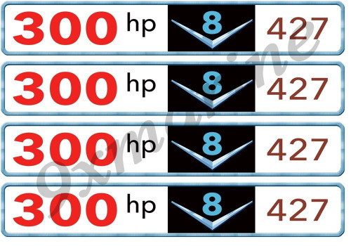 Four Chris Craft Valve Cover Sticker Tags. Let us know the numbers of your choice