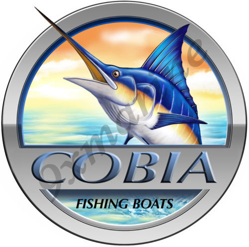 Cobia Round Sticker