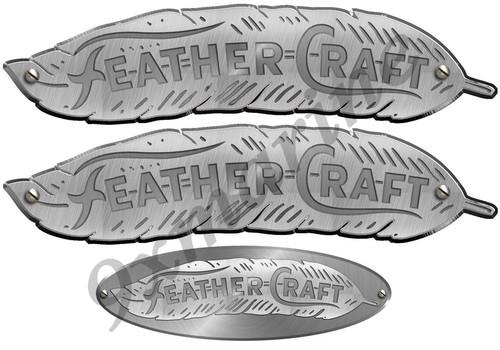 Three Feather Craft Vinyl Sticker Set