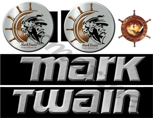 Mark Twain Boat Company Remastered Sticker Set