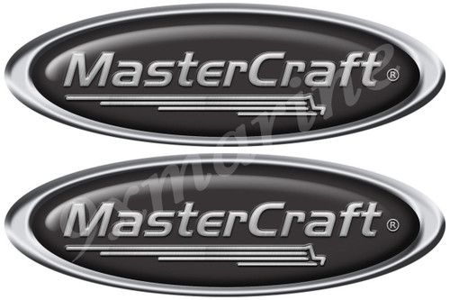 Master Craft Oval Stickers. Remastered stickers for boat restoration project