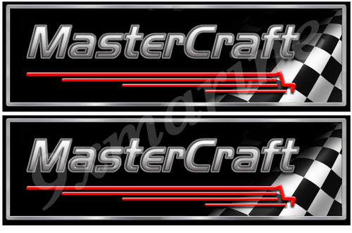 Two Master Craft Classic Style Stickers