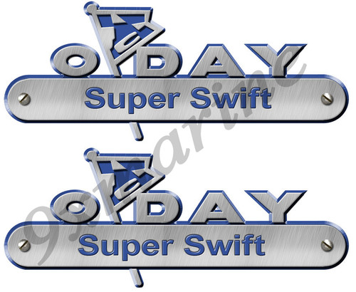Two Oday Stickers. All model name & numbers are available