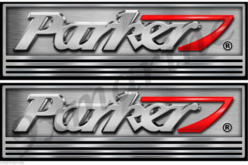 Have one to sell? Sell now Two Parker Boat Stickers Not OEM