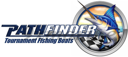 PathFinder Single Marlin Sticker Of Your Choice Starboard/Portside