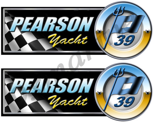 Two Pearson Designer Classic Sticker Set - The model number of your choice