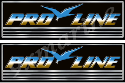 Pro line Custom Stickers - 10 inch long set. Remastered