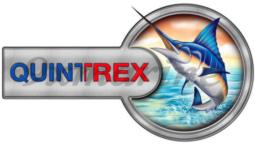 "Single Quintrex Sticker 7""X13"" Two Parts Port Side"