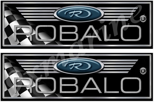 """ROBALO Classic 10"""" Long Stickers"""