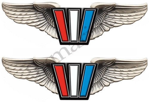 Two Wellcraft Boat Wings Stickers for Restoration Project