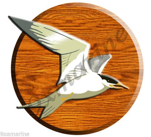 """Blemish Cover Sticker 7""""X7"""" Bird"""