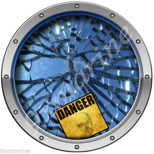 "Blemish Cover Sticker 7""X7"" broken glass"