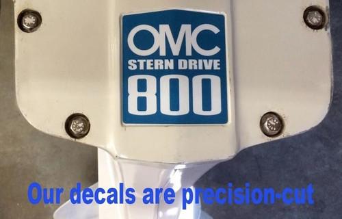 OMC Stringer Stern Drive Sticker Set for 3.8 Litre