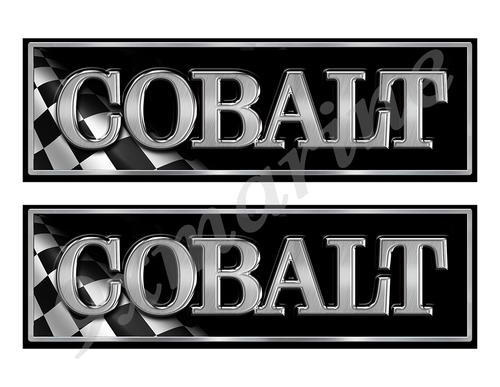 "Cobalt Classic Racing 10"" long Stickers"