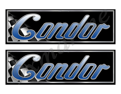 "Condor Classic Racing 10"" long Stickers"