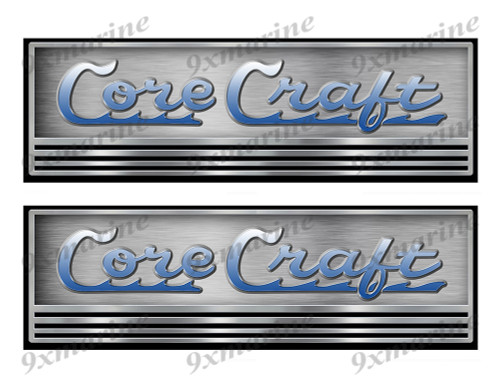 Two Core Craft Boat Stickers. Not OEM