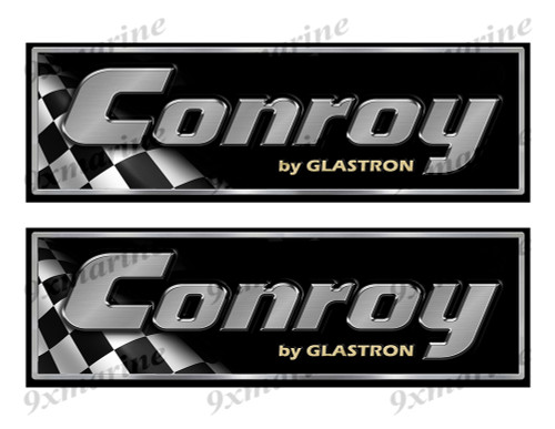 "Conroy Classic Racing 10"" long Stickers"