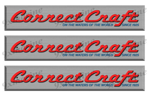 "1 Correct Craft 70s Vintage Sticker Remastered 16""x3"""