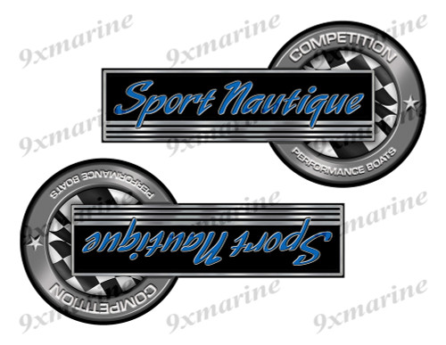 "Correct Craft Sport Nautique Classic Competition Stickers 8""x4"""