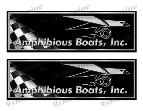 "Amphibious Classic Racing 10"" long Stickers"