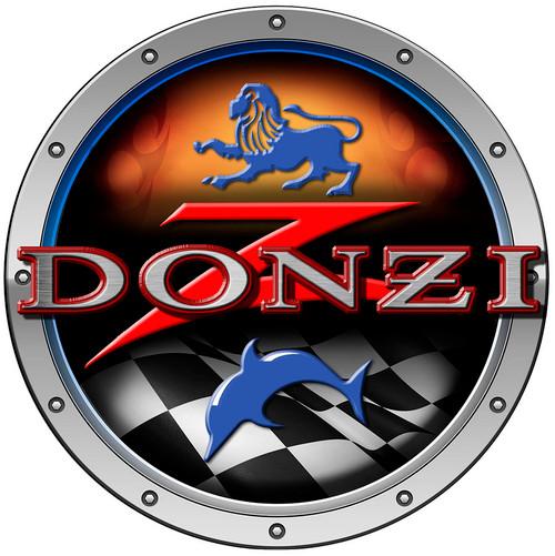Donzi Round Decal 7' Diameter