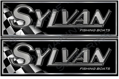 "Sylvan Classic Racing 10"" long Stickers"