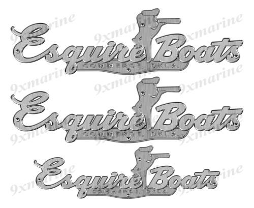 """Esquire 60s Stickers """"3D Vinyl Replica"""" of originals"""
