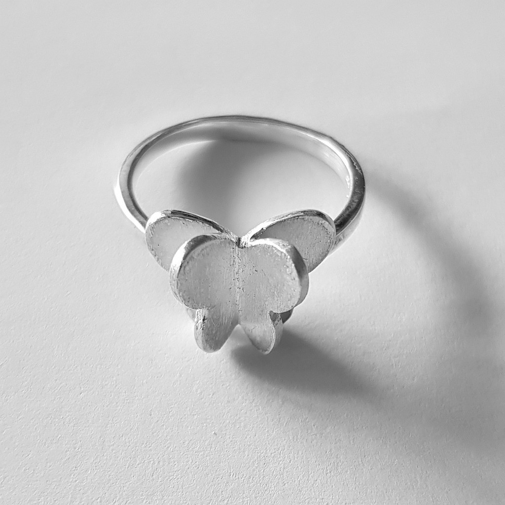 Butterfly Ring - 925 Sterling Silver