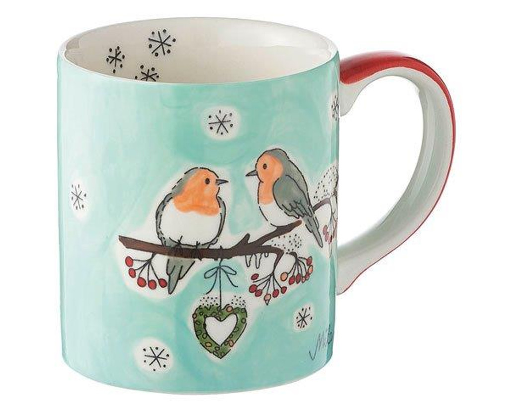 Mila Mug - Winterbirds - 280 ml