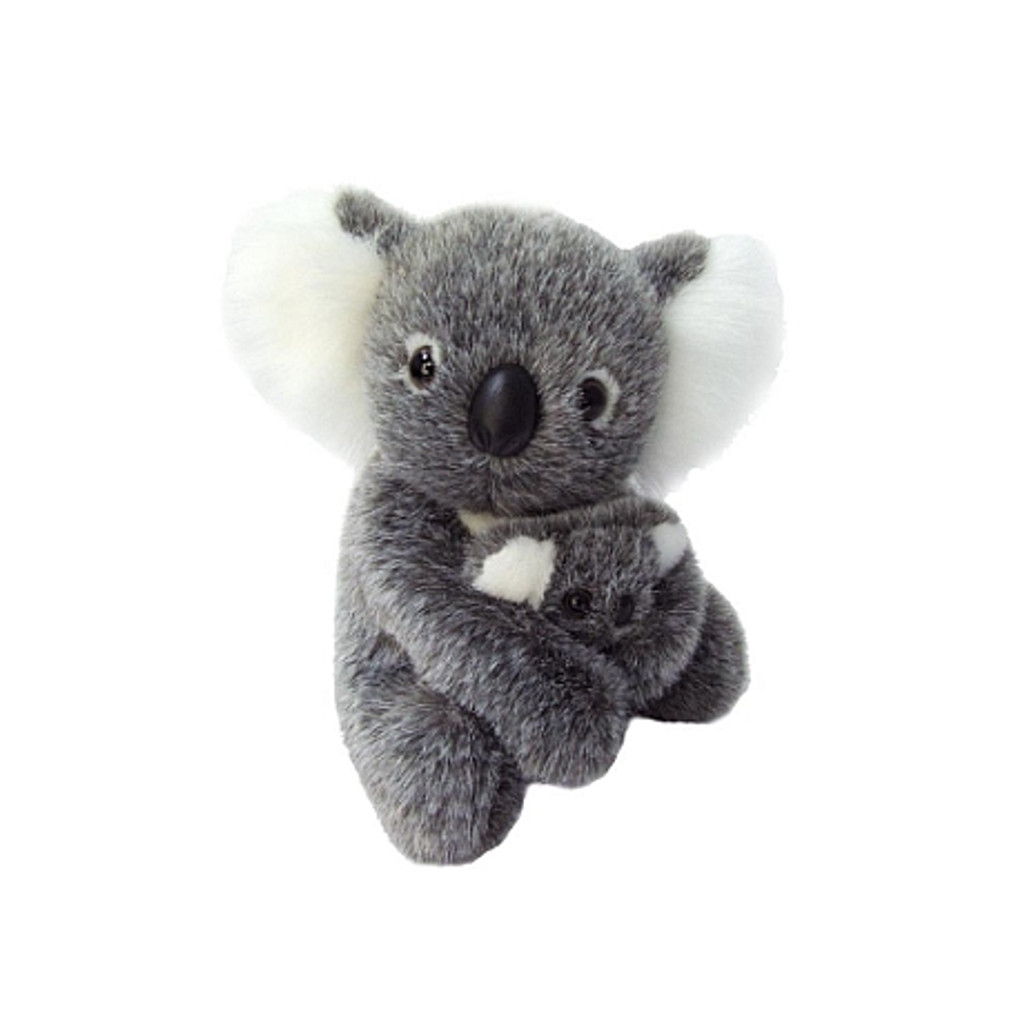 Koala with baby - Plush Toy - 19 cm  - Australian Made