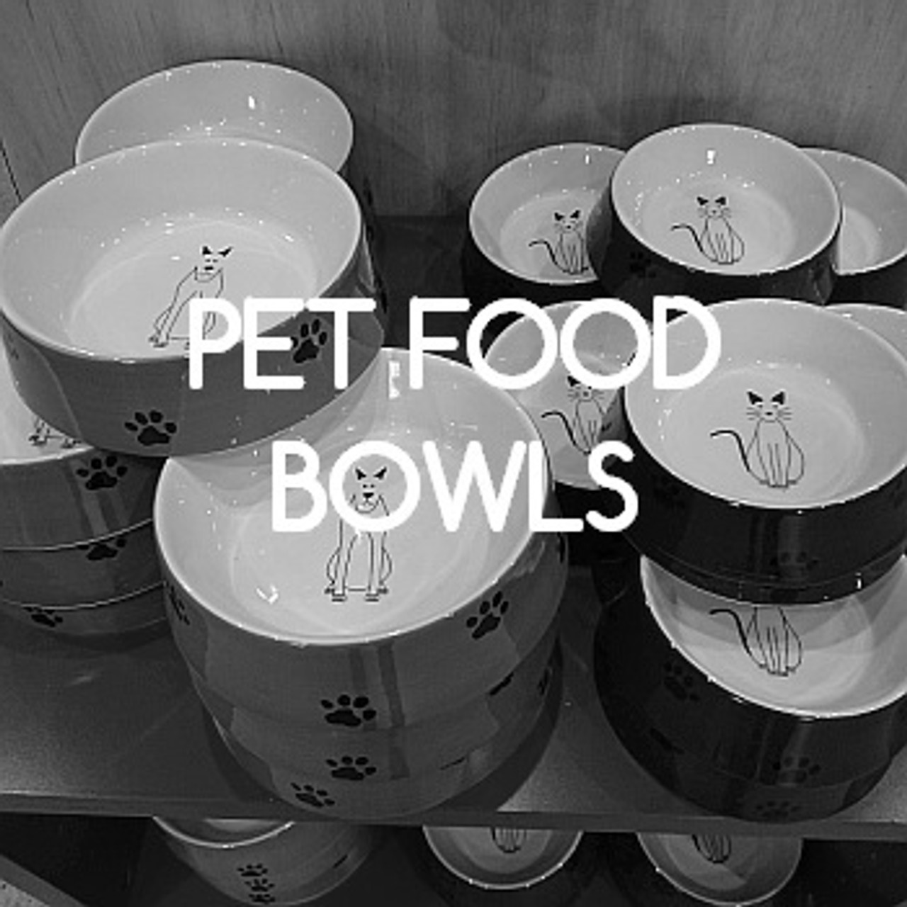 Feeding bowls