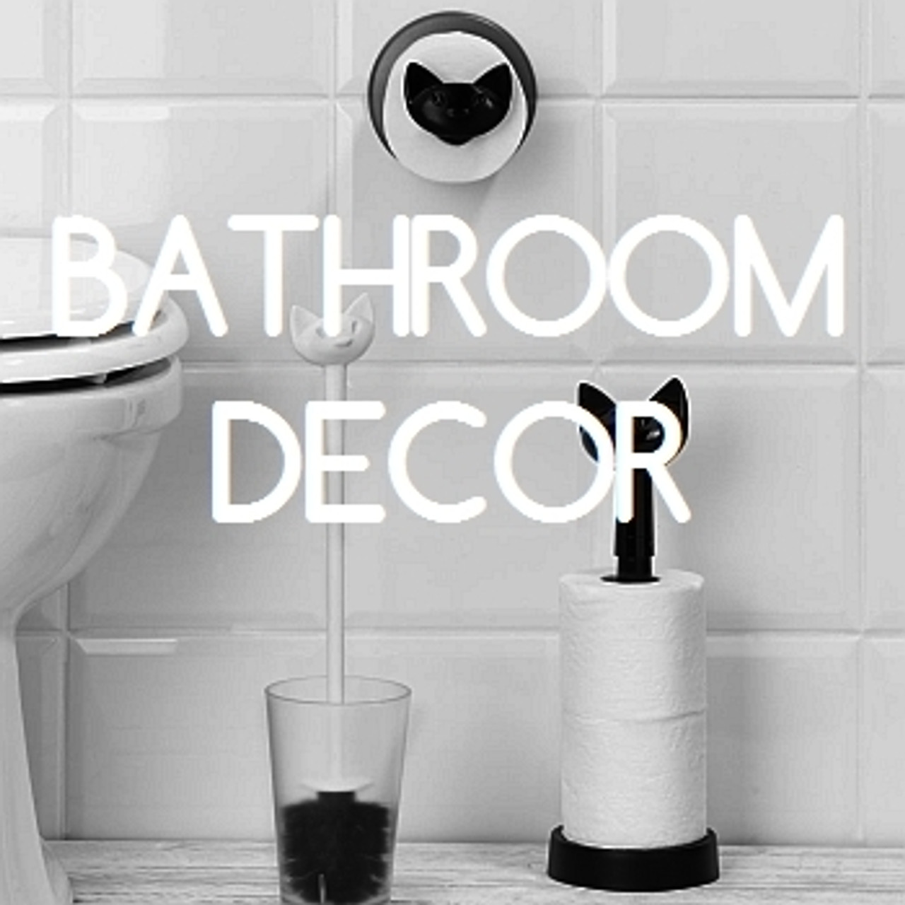 Bathroom Decor + Fixtures