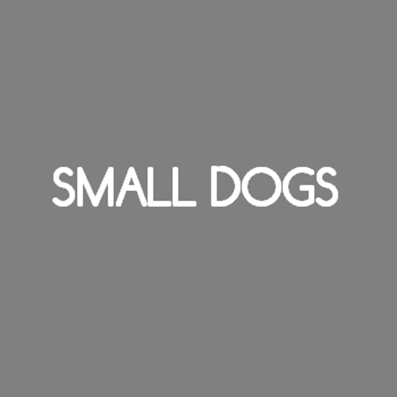 For small dogs