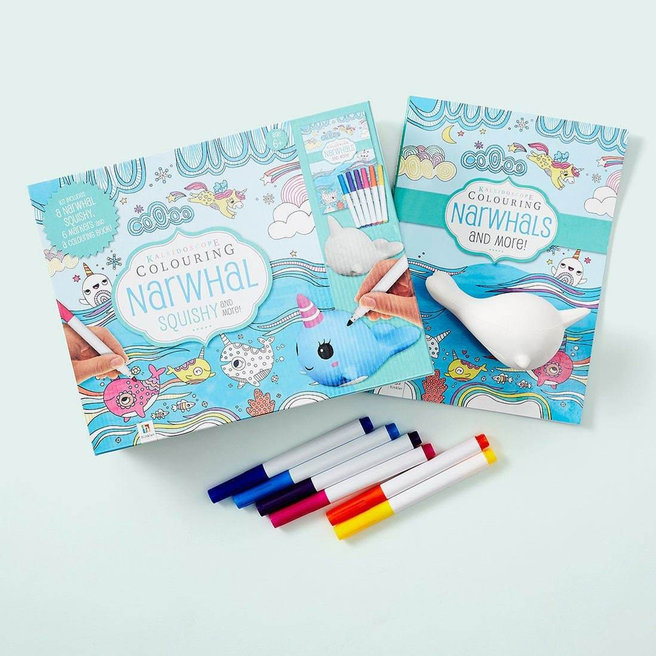 Colouring Books and Activity Sets
